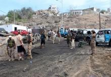 โหดหนัก!!ระเบิดฆ่าตัวตายกลางที่เกณฑ์ตร.เยเมน ดับ 37 !!