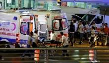 เกิดเหตุกราดยิงและระเบิด สนามบิน ตุรกี ตายแล้วอย่างน้อย 10 คน