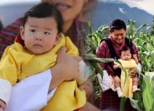 ชมพระอิริยาบถสุดน่ารัก ของ จิกมี นัมเกล วังชุก  เจ้าชายพระองค์น้อย แห่งภูฏาน!