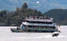 ระทึก!!! เรือท่องเที่ยวล่มในโคลอมเบีย เสียชีวิตแล้ว 9 ราย (มีคลิป)