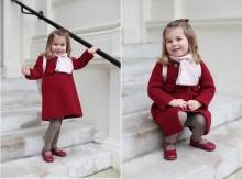 เจ้าหญิงน้อยชาร์ล็อตต์ ทรงแย้มยิ้มเสด็จโรงเรียนวันแรก