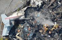 ญี่ปุ่นยังงง สาเหตุเครื่องบินเล็กตกใส่หลังคาบ้าน ดับ 3 คนบนพื้นดินซวยด้วย