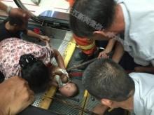 บันไดเลื่อนสยอง(อีก) หนีบแขนหนูน้อย 1 ขวบจนเลือดอาบ จนท.ใช้ชะแลงช่วยงัดระทึก