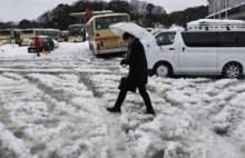 พายุหิมะถล่มปักกิ่ง..ยกเลิกเที่ยวบินกว่า 300 เที่ยว(มีคลิป)