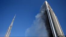 ดูไบเร่งสอบสวนหาสาเหตุเพลิงไหม้ตึกสูงในคืนขึ้นปีใหม่