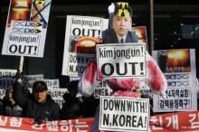 สหรัฐฯ-เกาหลีใต้-ญี่ปุ่น จะร่วมมือกันตอบโต้เกาหลีเหนือ