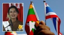 (ออง ซาน ซู จี) เตรียมเดินทางเข้าสู่ดินแดงไทย