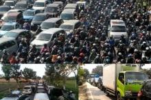 สลด! อินโดนีเซียเจอรถติดมาราธอน20ชม.ดับ18ราย