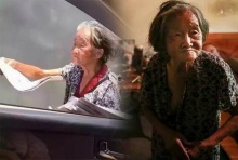 ดราม่า!แม่ชราฝืนสังขาร80ปี เร่ขายหนังสือพิมพ์หาเงินเลี้ยงลูกป่วย
