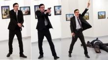 ช็อก!มือปืนบุกยิงดับทูตรัสเซีย สยองกลางกรุงตุรกี (มีคลิป)