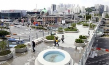 เริ่ด! เกาหลีใต้เปลี่ยนไฮเวย์ร้างกลางกรุงโซล เป็นสวนสาธารณะลอยฟ้า!!