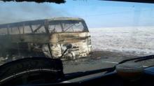 สลด! เพลิงไหม้วอดรถบัสในคาซัคสถาน ย่างสด 52 ศพ ช่วยออกมาได้แค่ 5 คน (คลิป)