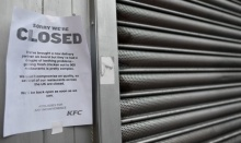 ไม่มีไก่ขาย เคเอฟซีอังกฤษ ต้องปิดให้บริการชั่วคราว!