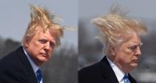 """นึกว่าปลอม!! ดูกันชัดๆ """"ทรัมป์"""" ยืนยัน ผมบนหัวเป็นของจริง"""