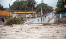 ฝนถล่มชิลีน้ำท่วมหนักหลายเมือง คนไร้บ้านกว่า600 เดือดร้อนกว่า 4 หมื่น