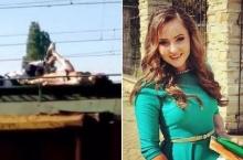 เซลฟี่มรณะ!! สาววัย 18 ปีนขึ้นไปถ่ายรูปบนหลังคารถไฟ ถูกไฟฟ้า 27,000 โวลต์ชอร์ตอนาถ