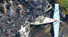 เครื่องบินเล็กตก กลางชุมชน นครโตเกียว ญี่ปุ่น ดับ 3 บาดเจ็บ2