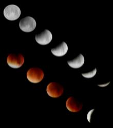 รวมภาพพระจันทร์สวย ๆ จากทุกมุมโลก กับปรากฏการณ์ Super Blood Moon