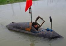 """พี่จีนสุดเจ๋ง!!สร้าง """"เรือดำน้ำ"""" ใช้เอง ภายในเวลาแค่ 2 เดือน..!!!"""