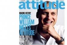 เจ้าชายวิลเลียมแห่งอังกฤษขึ้นปกAttitude  คนแรกในราชวงศ์!!