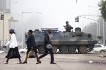 กองทัพซิมบับเวเข้าควบคุมเมืองหลวง