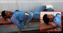 หนุ่มรถคว่ำสาหัสต้องตัดขา ญาติเห็นแล้วกรี๊ด!! โรงพยาบาลใช้ขาขาดรองคอแทนหมอน!!