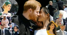 ประมวลภาพอดีตคนรัก ราชนิกุล และเหล่าคนดัง ร่วมงานพิธีเสกสมรสเจ้าชายแฮร์รี-เมแกน!