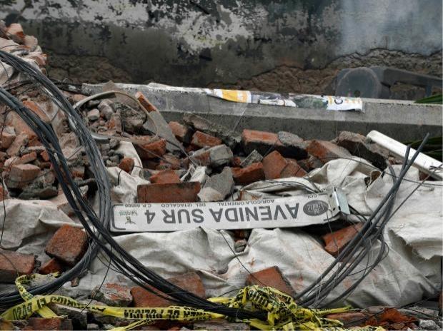 เหยื่อแผ่นดินไหวเม็กซิโกพุ่ง 58 ศพ รุนแรงที่สุดในรอบ 100 ปี