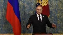 ปธน.รัสเซีย กล่าวหาตุรกีโจมตีเครื่องบินรัสเซียเพื่อปกป้องแหล่งน้ำมันของกลุ่มไอเอส