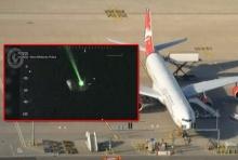 ชุลมุนกลางอากาศ ! นักบิน ต้องนำ'เครื่อง'บินกลับ หลัง ถูกเล็งโดยแสงเลเซอร์(มีคลิป)