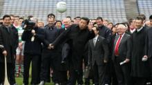 """จีนประกาศแผนเตรียมขึ้นเป็น """"มหาอำนาจฟุตบอลโลก"""" ภายในปี 2050"""