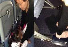 อึ้งกันทั้งลำ!!อาม่าให้หลานสาวนั่งฉี่บนพื้นเครื่องบิน!!!