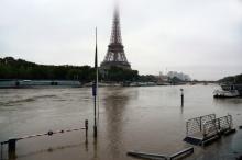 แม่น้ำแซนทะลักท่วมปารีส หวั่นกระทบบอลยูโร2016