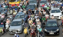 ฮานอย เตรียมห้ามมอเตอร์ไซค์เข้าเขตเมืองภายในปี 2030