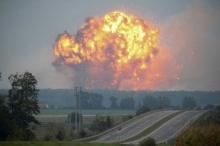 ระทึก! คลังแสงยูเครนระเบิด ทางการสั่งอพยพกว่า 30,000 คน