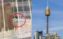 ช็อกซิดนีย์ทาวเวอร์!! หนุ่มปลดสายนิรภัย ดิ่งสกายวอล์กสูง 300 เมตร ตายสยอง!!