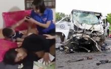 โศกนาฏกรรม รถชนสนั่น!! เจ้าบ่าวตายคาที่ ไม่ทันเห็นหน้าเจ้าสาว ดับหมู่ 14 ศพ!! (มีคลิป)