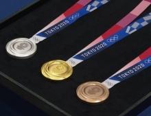 ญี่ปุ่นอวดโฉม 'เหรียญโอลิมปิก 2020' รีไซเคิลจากมือถือเก่า-ขยะอิเล็กทรอนิกส์ 8 หมื่นตัน
