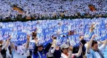 ชาวญี่ปุ่นกว่า 35,000 คน ประท้วงต้านฐานทัพสหรัฐฯ ในโอกินาวะ
