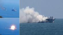 ไอเอสอวดภาพยิงขีปนาวุธถล่มเรือรบอียิปต์ เร้าศึกไซไน