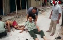 ตำรวจจีนใจกล้าพุ่งรับหนุ่มติดยา หวังโดดตึกฆ่าตัวตายสุดท้ายรอด (ชมคลิป)