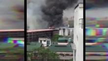 เหตุไฟไหม้มหาวิทยาลัยในกรุงมะนิลา เสียหายกว่า 16 ล.
