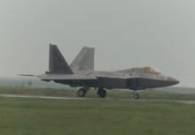 สหรัฐอเมริกาส่งเครื่องบินF-22 ข่มขวัญรัสเซีย (คลิป)
