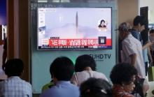 ขีปนาวุธเกาหลีเหนืออาจตกในเขตเศรษฐกิจพิเศษญี่ปุ่น