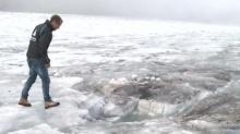 ธารน้ำแข็งละลายจนพบศพผู้สูญหาย 75 ปีที่แล้ว!!