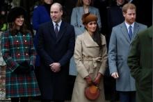 เมแกน มาร์เคิล ควงเจ้าชายแฮร์รี ร่วม ฉลองคริสต์มาสครั้งแรกกับสมาชิกในราชวงศ์อังกฤษ