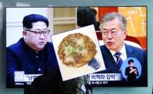 """เกาหลีใต้เปิดเมนูสรรหามาเสิร์ฟ """"คิม"""" ชวนให้นึกถึงสมัยวัยเยาว์ไปเรียนสวิส"""