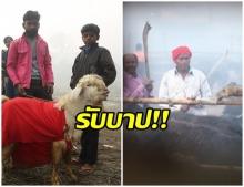 สังเวยควาย 8 พันตัว - เเพะต่อคิว เทศกาลบูชายัญสัตว์ประเทศเนปาล