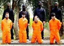 ไอเอส โชว์โหด ตัดหัวชาย 4 คน ฐานปล้น-ฆ่า