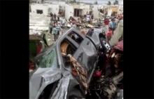 ทอร์นาโดถล่มเม็กซิโกดับ13ศพ บ้านเรือน-รถยนต์พังเสียหายยับ (ชมคลิป)